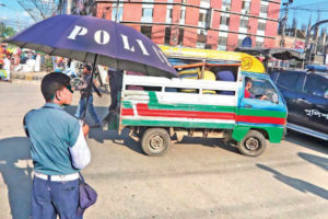Traffic Police in Bangladesh